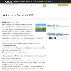 10 Steps to a Successful 10K