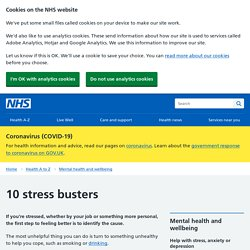 10 stress busters