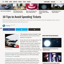10 Tips to Avoid Speeding Tickets