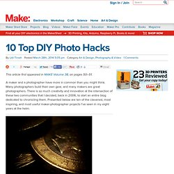 10 Top DIY Photo Hacks