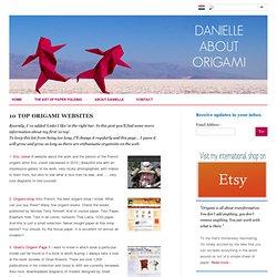 10 top origami websites