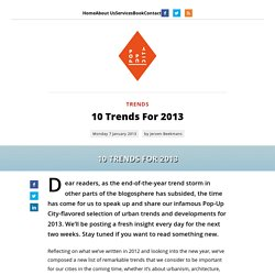 10 Trends For 2013