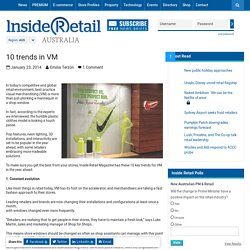 10 trends in VM - Inside Retail