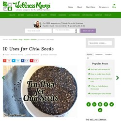 10 Uses for Chia Seeds
