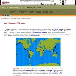 10(n) Volcanism : Volcanoes