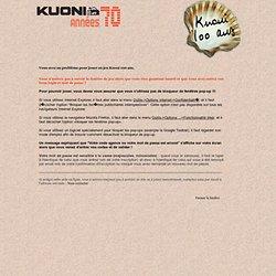 100 ans Kuoni - aide en ligne