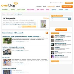 100% Aquarelle sur OverBlog