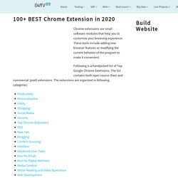 100+ BEST Chrome Extension in 2020
