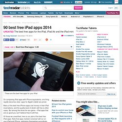 Top 60 best free iPad apps 2012