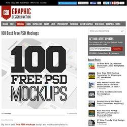 100 Best Free PSD Mockups