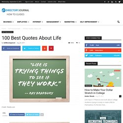100 Best Quotes About Life - StumbleUpon
