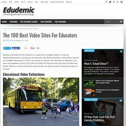 The 100 Best Video Sites For Educators