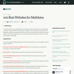 100 Best Websites for Mathletes
