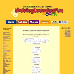 Cartes bingo & coloriages