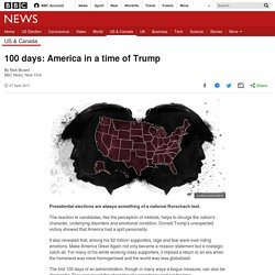 100 days: America in a time of Trump