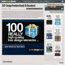 100+ design freebies