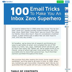 100 Email Hacks