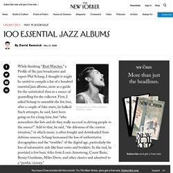 100 Essential Jazz Albums