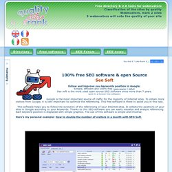100% free SEO Software : SEO Soft