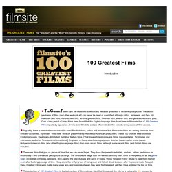 100 Greatest Films