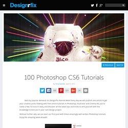 100 Photoshop CS6 Tutorials