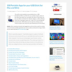 100 Portable Apps for your USB Stick (for Mac and Win).url