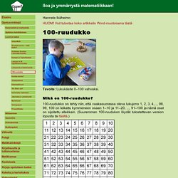 100-ruudukko