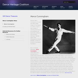 100 Treasures - Merce Cunningham