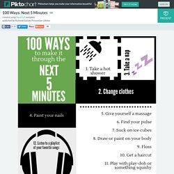 100 Ways: Next 5 Minutes