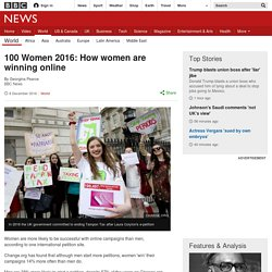 100 Women 2016: How women are winning online