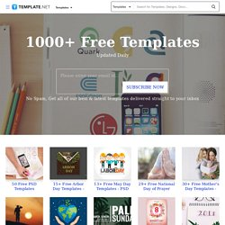 1000+ Free Business Templates