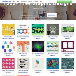 1000+ Free Graphic Design Templates