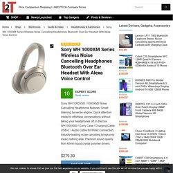 Buy Sony WH 1000XM3 Wireless Headphones