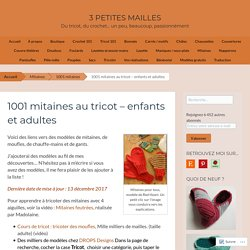1001 mitaines à tricoter