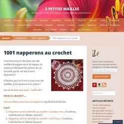 1001 napperons au crochet