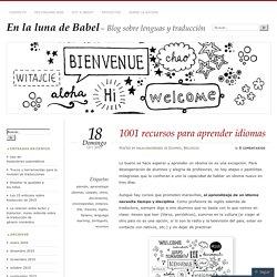 1001 recursos para aprender idiomas