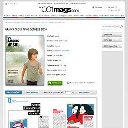 Grains de Sel n°60 octobre 2010 - Page 44 - 45 - Grains de Sel n°60 octobre 2010 - Grains de Sel - cinéma / DVD - image / texte - Arts & culture - 1001mags - Magazines en PDF à 1 € et GRATUITS !