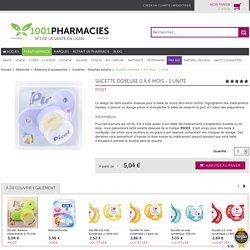 Sucette doseuse 0 à 6 mois - 1 unité de Picot sur 1001pharmacies, dans Maternité