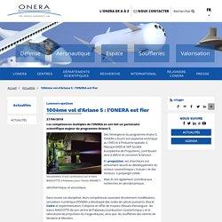 100ème vol d'Ariane 5 : l'ONERA est fier