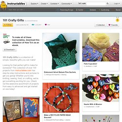 101 Crafty Gifts - StumbleUpon