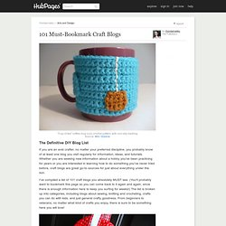 101 Must-Bookmark Craft Blogs