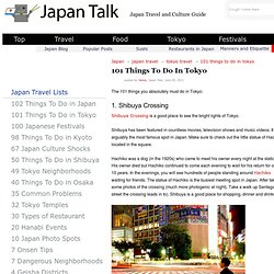 101 Things To Do In Tokyo