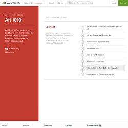 Art history basics