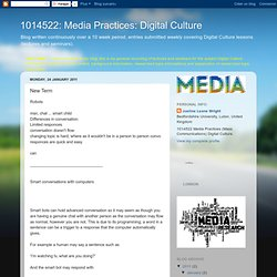 Media Practices: Digital Culture: New Term
