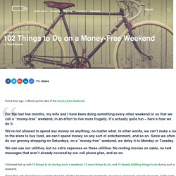 100 Things to Do During a Money Free Weekend