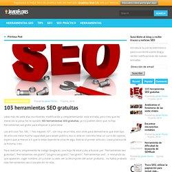103 herramientas SEO gratuitas