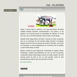 104 - PLATERO