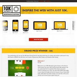 10K Apart | Inspire the web with just 10K.