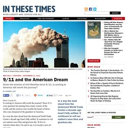 9/11 and the American Dream
