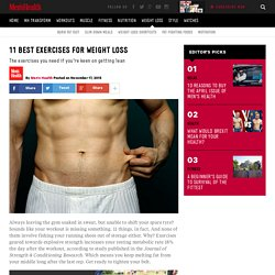 11 best exercises for weight loss